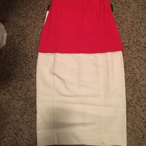 Express White Pencil Skirt NWT